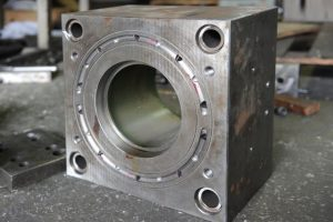 Plastic injection mould or die
